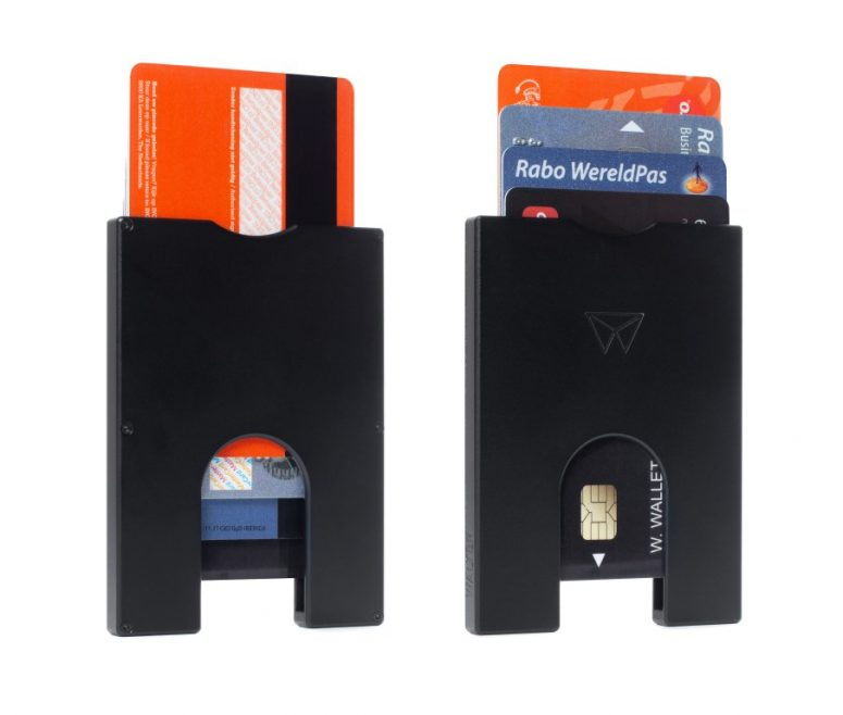 SlimWallet-4p-Duo-Black (Medium)