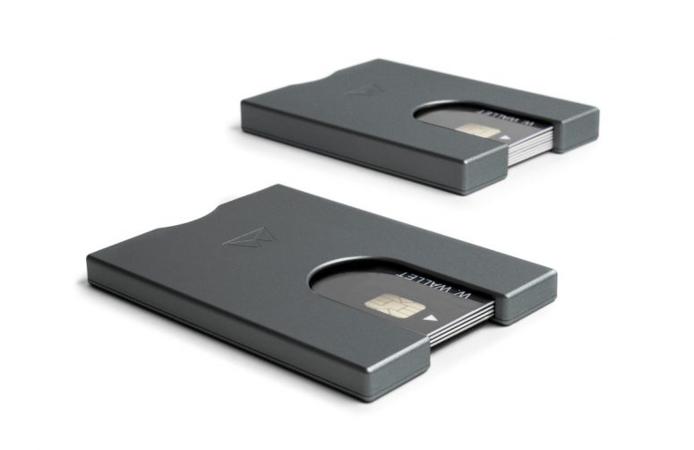 SlimWallet-Gunmetal-Set (Medium)
